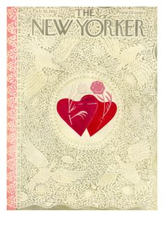 The New Yorker Cover - February 16, 1952 Giclee Print by Ilonka Karasz at…