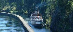 Barco de pasajeros M/S Victoria en el Telemark Canal, Noruega - Fotografía: Jørn Steen