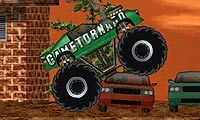 Demolka w Monster Trucku