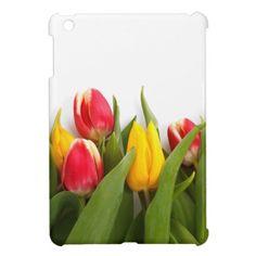 Colorful Tulips iPad mini case