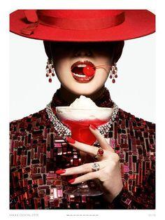 """""""D'ÉTÉ COCKTAIL"""" Vogue Paris"""
