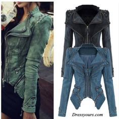 demin jackets... they are so trendy