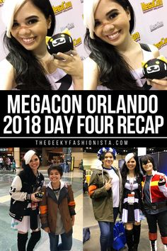 MegaCon Orlando 2018 Sunday Recap // The Geeky Fashionista Anime Conventions, Family Fun Night, Blog Love, Lifestyle Group, Best Places To Travel, Family Adventure, Weekend Getaways, Family Life, Mom And Dad
