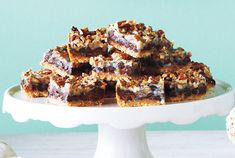 Chewy Caramel Pecan Squares