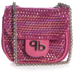 Girls Pink Sequin Bag (13cm) ❤ liked on Polyvore