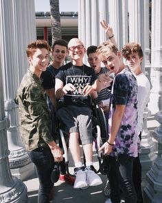 """149k Likes, 1,735 Comments - Why Don't We (@whydontwemusic) on Instagram: """"@nathan.ehline You are an inspiration to us all and the light is always shining on you! We are…"""""""