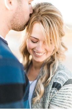Adrienne and Ryan - Beach Engagement from Nicole Lapierre Photography