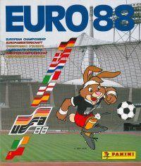 Panini Euro 88 Album Cover