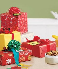 28 Ideas for Exchanging Christmas Gifts | Sure, you could just hand over a gift, but why not present your presents in a more creative way?
