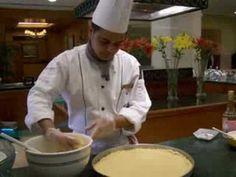 How to make Basboosa, a traditional Arabic sweet.