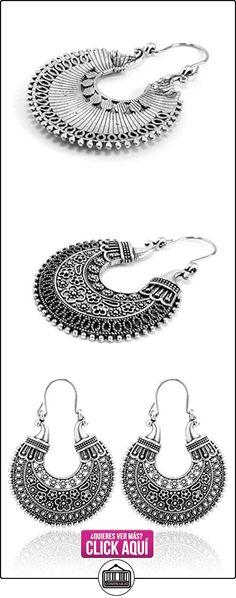 2livefor con encantadores pendientes Ethno Gross adornado pendientes Bohemian Vintage Pendientes Largo hängend Antiguo Style plata Ornament  ✿ Joyas para mujer - Las mejores ofertas ✿ ▬► Ver oferta: http://comprar.io/goto/B01F8HOY7O