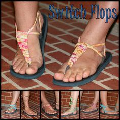 Nancy's Couture: Switch Flops {A TUTORIAL}