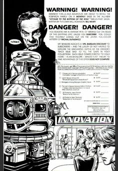 Innovation Lost in Space comics