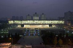 National Library of China by KSP Jürgen Engel Architekten, Beijing, China