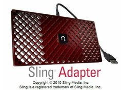 Never miss the game again with Dish TV Sling Adapter - Now only a one time fee of $49.99.