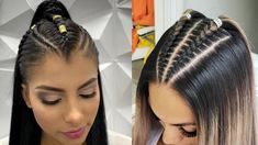 Trendy Fall 2019 Hairstyle & Makeup Ideas - Hanging With Hollywood Wil Cool Braid Hairstyles, Baddie Hairstyles, Teen Hairstyles, Cool Braids, Braids For Long Hair, Short Sassy Hair, Brown Hair With Blonde Highlights, Natural Hair Styles, Long Hair Styles
