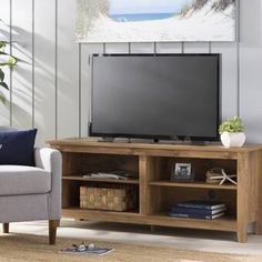 Looking for Sunbury TV Stand TVs 65 Beachcrest Home ? Check out our picks for the Sunbury TV Stand TVs 65 Beachcrest Home from the popular stores - all in one. Tv Stand Set, Diy Tv Stand, Open Shelving, Adjustable Shelving, Swivel Tv Stand, Floating Tv Stand, Rack Tv, Solid Wood Tv Stand, Coffee Table With Storage