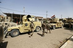 Iraqi security forces enter central Fallujah after fight against the Islamic State militants, Iraq, Friday, June 17, 2016. Iraqi special forces entered the center of Fallujah city early Friday, taking over a government complex and a neighborhood that served as a base for the Islamic State group militants after intense fighting. (AP Photo)