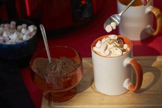 Watch this to find out how to make some warming party hot chocolate for a crowd.