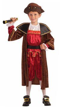 Resultado de imagen de disfraz de cristobal colon casero