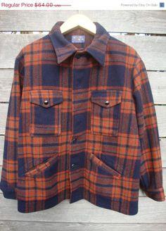 20 sale Vintage Pendleton Plaid hunting jacket by Simplemiles, $44.00
