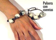Reciclamos una Pulsera con Cuentas - DIY - Recycling a Beaded Bracelet