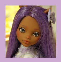 Malva OOAK Custom Repaint Monster High Doll by Nerea Pozo