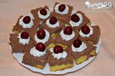 Retete gustoase si garnisite: Prajitura cu ciocolata si cirese