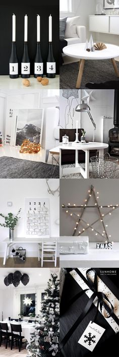 STYLIZIMO BLOG: Black & White Christmas