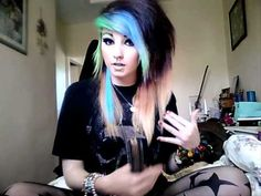 """How I get Big """"Scene"""" Hair xx i am going to do this!!!!!!!!!!!!!"""