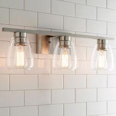 Sleek Contemporary Bath Light - 3 Light                                                                                                                                                                                 More