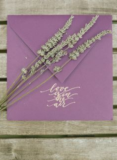 Get inspired to add an elegant personal touch to your soiree invitations with rich fall colors and a touch of gold ink.