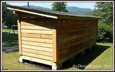 Last weekend my husband built a woodshed at our house in the mountains. He wanted a covered, but ventilated open shed that would allow some freshly cut wood to…