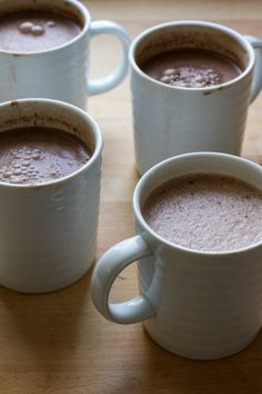 edible perspective - Home - single serving vegan hot cocoa 4 ways