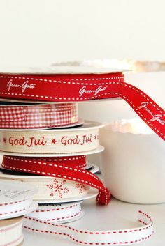 liebesbotschaft - christmas - wrapping ideas - ribbons