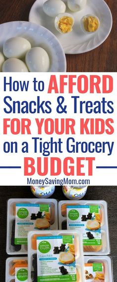 We Afford Snacks and Treats for Our Kids on a Tight Grocery Budget You CAN afford snacks and treats for your kids on a tight grocery budget!You CAN afford snacks and treats for your kids on a tight grocery budget! Frugal Tips, Frugal Meals, Cheap Meals, Budget Meals, Snacks On A Budget, Food Budget, Budget Cooking, Cheap Food, Inexpensive Meals