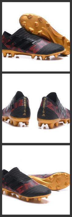 6254b2fee Adidas Nemeziz 17+ 360 Agility FG - Scarpe Da Calcio Uomo Nero Oro Rosso