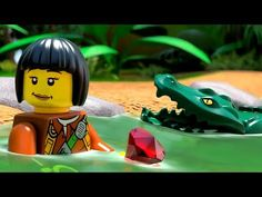 LEGO City Jungle 2017 summer sets product animation - YouTube