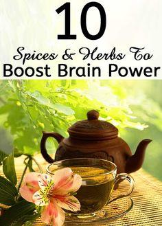 Top 10 Spices & Herbs That Boost Brain Power | Medi Villas