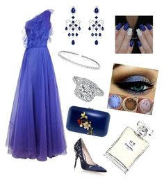 """""""Queen's most expensive cuties"""" by cosminaion on Polyvore featuring Christian Dior, RALPH & RUSSO, Silvia Furmanovich, Suzanne Kalan, Effy Jewelry and Chanel"""
