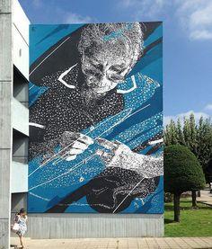 Eime in Lousada, Portugal - street art