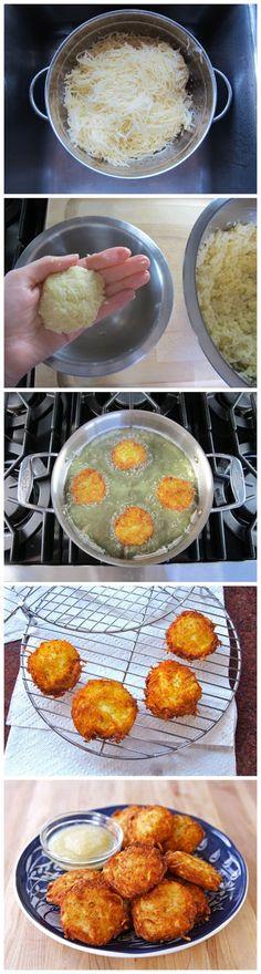 cookglee recipe pictures: Crispy Panko Potato Latkes