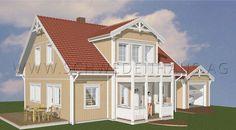 """Schwedenhaus AG - Schwedenhaus """"Klara"""" - Landhaus Serie http://www.schwedenhaus.ag"""