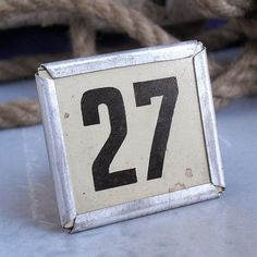 magic number 10 or 27 vintage number for altered by CoolVintage, $5.50 Number 27, Magic Number, Lucky Number, Vintage Numbers, Ocd, Handmade Gifts, Etsy, Kid Craft Gifts, Craft Gifts