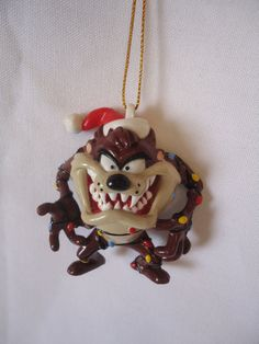 Taz Tasmanian Devil Looney Tunes Christmas Tree by meile666, $8.00