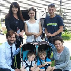 TWINS from Weston have been appearing on national television screens alongside David Tennant and Olivia Colman in the hit ITV show #Broadchurch 2