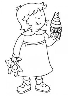 caillou coloring pages free printable caillou coloring pages for kids picture and wallpapers