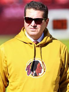 """We'll never change the name. It's that simple. NEVER - you can use caps.""  Washington Redskins Owner - Daniel Snyder"
