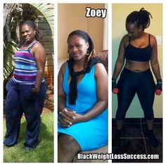 South African Success: Zoey from South Africa lost 57 pounds with regular exercise and healthy eating habits.