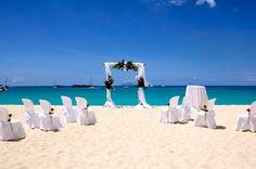 Sint Maarten Wedding on the Beach